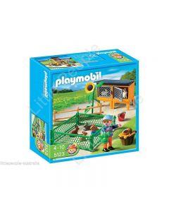PLAYMOBIL Bunny Hutch 5123 Figurine Model Building KIDS TOY