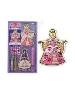 Melissa and Doug Design Your Own Princess Magnets