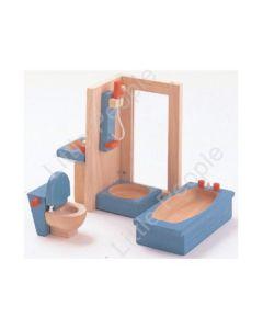 Plan Toys -Wooden Bath roomset Set Neo