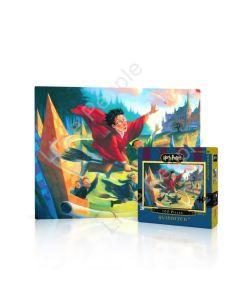 New York Puzzle Company Quidditch Mini 100 Piece Jigsaw Puzzle