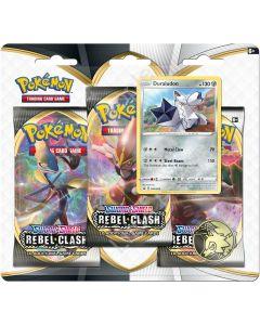 Pokemon - TCG - Rebel Clash Three Booster Blister