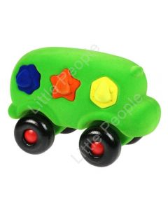 Rubbabu Large Shape Sorter Bus Infant Pretend Play