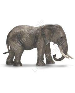 Schleich - African Elephant Female Figurine Figure Zoo Wild Animal Toy