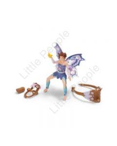 Schleich - Bayala Elf Riding Set Limeya 42108 - Brand