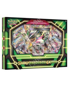 Pokemon TCG : Pokemon Shiny Rayquaza EX Box NEW Factory Sealed Rare