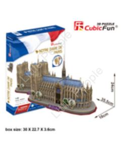 CubicFun Westminster Abbey London  3D Puzzle NEW FACTORY SEALED