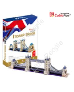 Tower Bridge - 120pc 3D Puzzle by CubicFun  NEW FACTORY SEALED