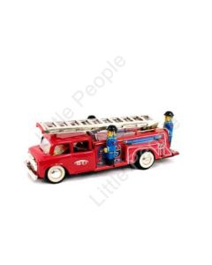 Tin Fire Truck Friction with siren