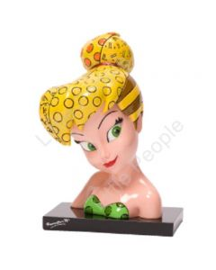 Disney Britto Tinker Bell Bust Figurine last one Retired