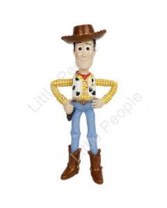 DISNEY PIXAR TOY STORY 4  SHERIFF WOODY FIGURINE