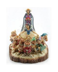 Jim Shore Wood Carved Snow White Figurine Disney Traditions