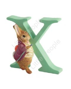 Peter Rabbit Letters - Letter X with Oldwith Benjamin Bunny