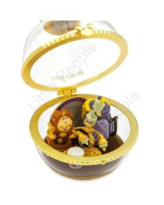 Lumiere and Cogsworth Disney Duos Sketchbook Ornament –Limited Release