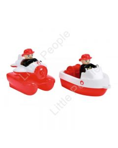 BIG - WATERPLAY FIRE BOAT SET
