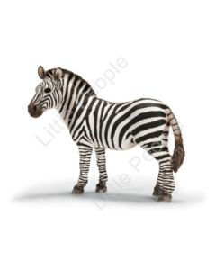 Schleich - Zebra Female Figurine Figure Zoo Wild Animal Toy retired